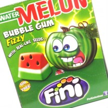 WATER MELON BUBBLE PICA FIZZY BUBBLE GUM ANGURIA FRIZZANTE  Pz 200 x 5g Fini