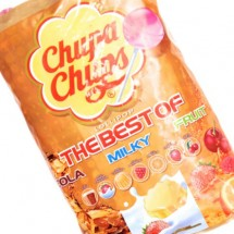 CHUPA CHUPS THE BEST OF COLA MILK FRUIT