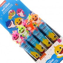 BABY SHARK TIMBRINO CON CARAMELLE CANDY TUBE Pz 24 x 8g PinkFong Nickelodeon in vendita all'ingrosso