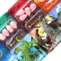 BLISTER DINO EGGS BUBBLEGUM Pz 24 x 16g in vendita all'ingrosso