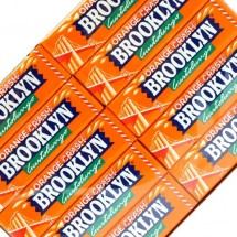 BROOKLYN ORANGE CRASH CHEWING GUM GUSTO ARANCIA Pz 20 Perfetti in vendita all'ingrosso