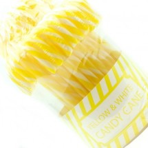 CANDY CANES BIANCO GIALLO Pz 50 x 15g in vendita all'ingrosso