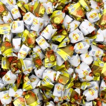 CARAMELLA ESSENTIA GUSTO RABARBARO ARANCIA Mangini in vendita all'ingrosso