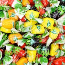 CARAMELLE RIPIENO FRUTTA Mangini in vendita all'ingrosso