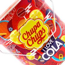 CHUPA CHUPS DISPLAY IN LATTA GUSTO COLA Pz 150 x 12g Chupa Chups in vendita all'ingrosso