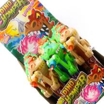 DINO CHOMPER GIOCATTOLO CON LOLLIPOP Pz 12 x 11g Alex Sweet in vendita all'ingrosso
