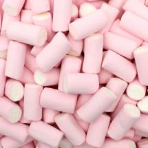 FINITRONC MARSHMALLOW BICOLORE BIANCO-ROSA SENZA GLUTINE Fini in vendita all'ingrosso