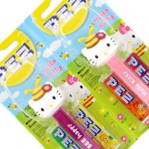 HELLO KITTY PEZ CANDY DISPENCER Pz 6 x 17g in vendita all'ingrosso