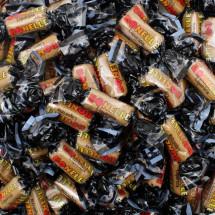 LE BONELLE TOFFEE LIQUIRIZIA CARAMELLE MORBIDE INCARTATE Fida Candies in vendita all'ingrosso