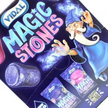MAGIC STONES BUBBLE GUM RIPIENO Pz 200 x 5g Vidal in vendita all'ingrosso