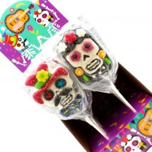 MALLOW POP HALLOWEEN DIA DE LOS MUERTOS Pz 12 x 40g Dekora in vendita all'ingrosso