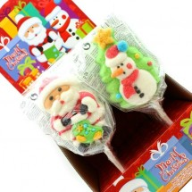 MALLOW POP MERRY CHRISTMAS Pz 12 x 40g Dekora in vendita all'ingrosso