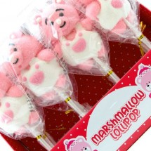 MALLOW POP ORSETTO ROSA CON SALOPETTE Pz 12 x 45g in vendita all'ingrosso