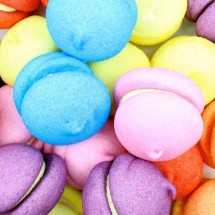 MARSHMALLOW MACARONS Pz 50 x 50g Dolciaria Chirico in vendita all'ingrosso