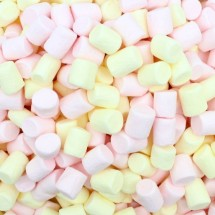 MINI MALLOWS GIALLO ROSA Mellow Party in vendita all'ingrosso