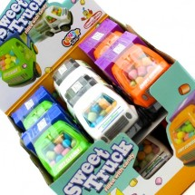 SWEET TRUCK CAMION GIOCATTOLO CON CARAMELLE Pz 12 x 7g Candy Toys in vendita all'ingrosso