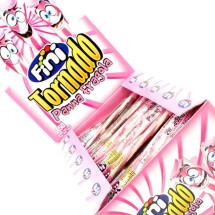 TORNADO PANNA FRAGOLA CARAMELLE GOMMOSE INCARTATE Pz 150 x 9g FINI in vendita all'ingrosso