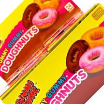 DOUGHNUTS YUMMY GUMMY CARAMELLE GOMMOSE INCARTATE SENZA GLUTINE Pz 24 x 23g Gummi Zone in vendita all'ingrosso