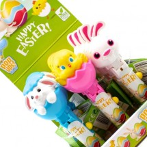 HAPPY EASTER POP UPS LOLLIPOP Pz 12 x 10g Bip