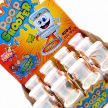 POOP SHOOTER WC SPARACACCA GIOCATTOLO CON CARAMELLE Pz 12 x 10g Sweet Flash