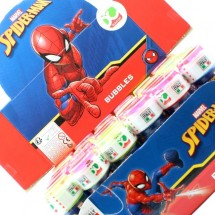 SPIDERMAN BUBBLES BOLLE DI SAPONE Pz 36 x 60ml
