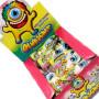 OCCHI FINTI BUBBLE GUM RIPIENI CREMA ALLA FRUTTA Pz 30 x 22,24g SENZA GLUTINE Zed Candy in vendita all'ingrosso